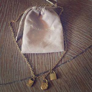 Michael Kors Hamilton Women's Gold Necklace